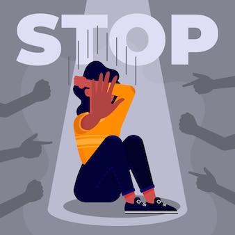 Zatrzymaj koncepcję przemocy ze względu na płeć