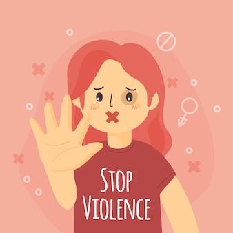 Zatrzymaj przemoc ze względu na płeć