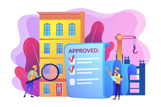 Zatwierdzenie projektu architektonicznego, kontrola bezpieczeństwa. kontrola jakości konstrukcji, zarządzanie jakością konstrukcji, zatrudnienie koncepcji technika jakości.