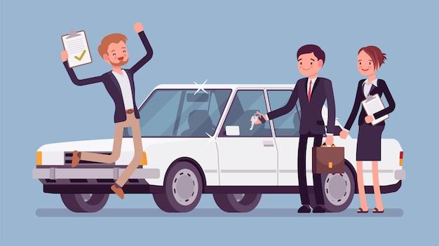 Zatwierdzony kredyt samochodowy