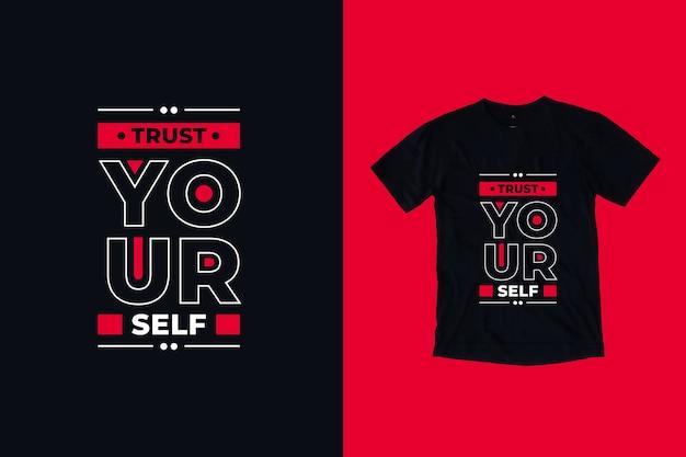 Zaufaj sobie cytuje projekt koszulki