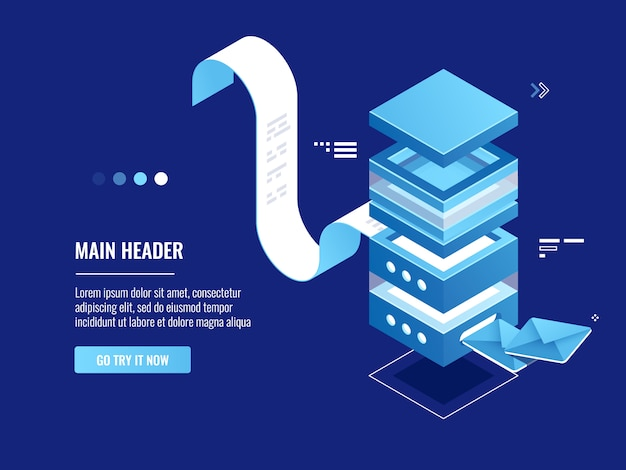 Zautomatyzowane wysyłanie wiadomości e-mail, reklama internetowa i promocja, serwerownia