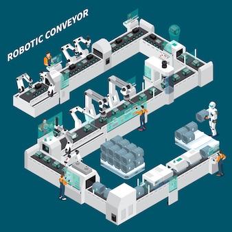 Zautomatyzowany przenośnik izometryczny