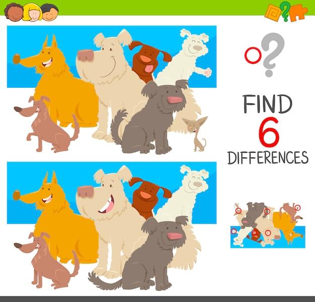Zauważ różnice z psami
