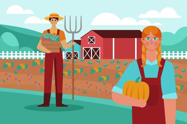 Zawód ekologicznego rolnictwa płaskiego
