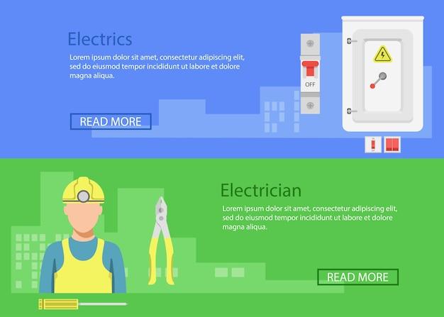 Zawód elektryka, profesjonalna ikona elektryka