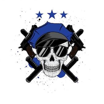 Zawód policyjnej czaszki