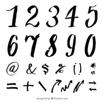 Zbierania numerów atramentu