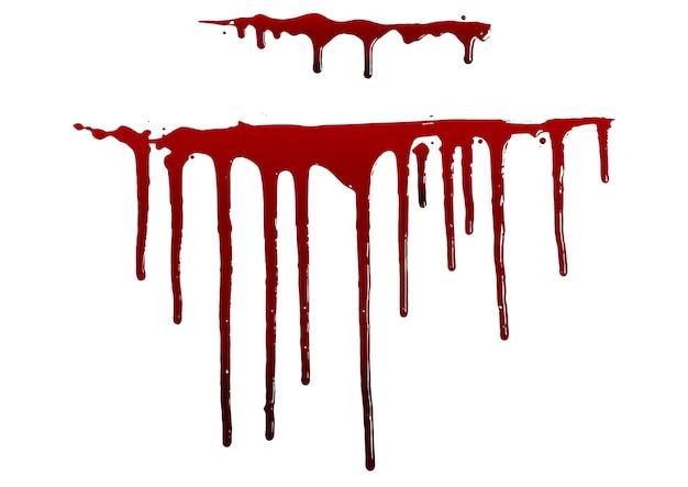 Zbieranie różnych splatters krwi lub farby