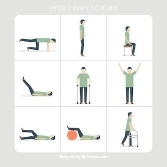 Zbiór ćwiczeń fizjoterapeutycznych