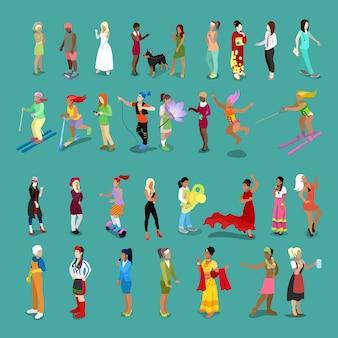 Zbiór ikon żeńskich