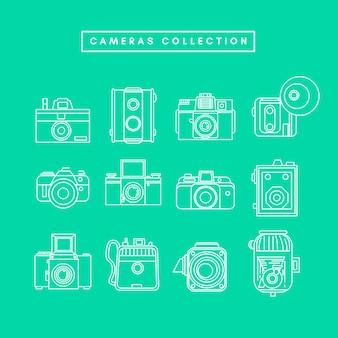 Zbiór kamer vintage