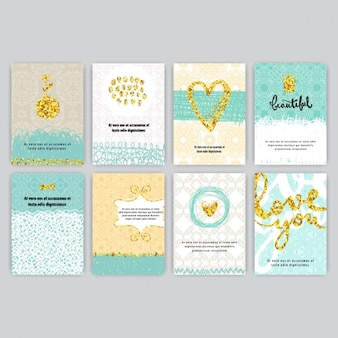 Zbiór kart miłość