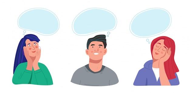 Zbiór ludzi myślących lub marzących o czymś
