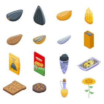 Zbiór nasion słonecznika