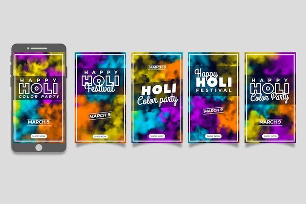 Zbiór opowiadań na instagramie dla festiwalu holi