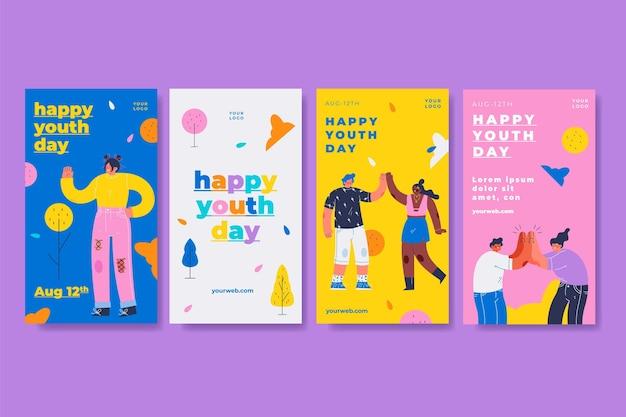Zbiór opowiadań o międzynarodowym dniu młodzieży