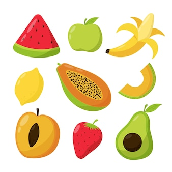 Zbiór pysznych owoców wyciągnąć rękę