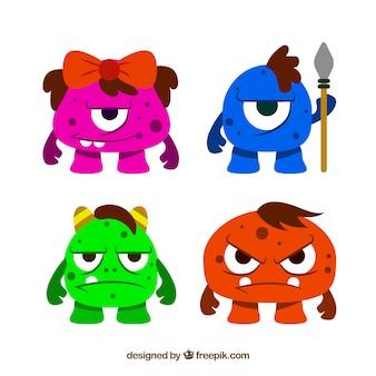 Zbiór różnych potworów