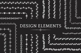 Zbiór wektorów elementów projektu dzielnika