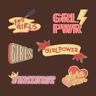 Zbiór wektorów mocy dziewczyny