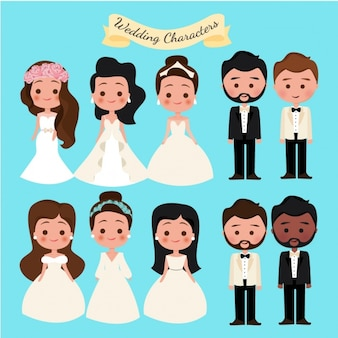 Zbiór znaków ślubne