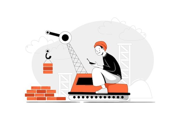 Zbuduj koncepcję ilustracji uruchamiania