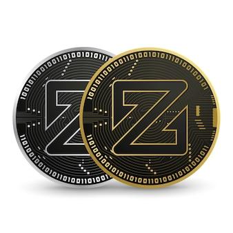 Zcoin digital currency vector
