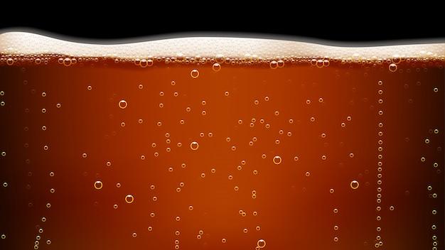 Zdjęcie ciemnego piwa