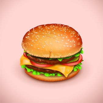 Zdjęcie hamburgera