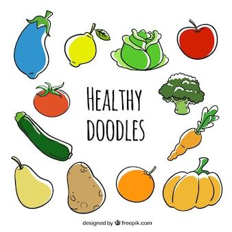 Zdrowe doodles