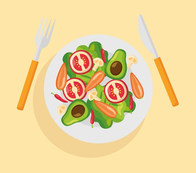Zdrowe jedzenie świeże
