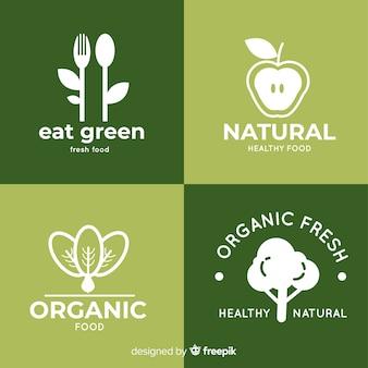 Zdrowe logo żywności