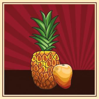 Zdrowe odżywianie świeżych owoców