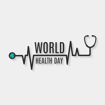 Zdrowie dzień tło wzór