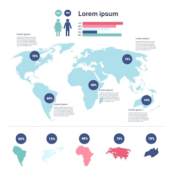 Zdrowie medycyna infografika informacje banner z miejsca kopiowania