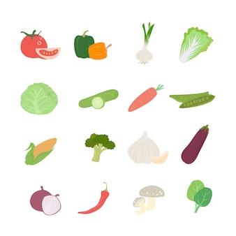 Zdrowy zestaw warzyw