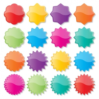 Zębate kolorowe kulki