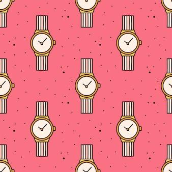 Zegarek na rękę wzór