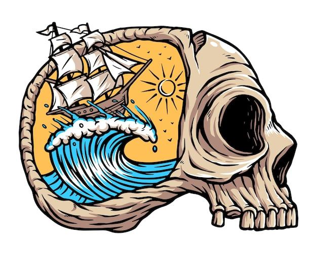 Żeglując po oceanie grozy