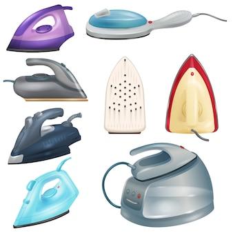 Żelazko elektryczne urządzenia gospodarstwa domowego do prania