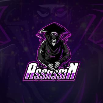 Zespół esports logo assassin