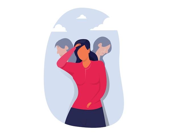 Zespół oszusta smutne wyrażenia choroba afektywna dwubiegunowa fałszywe twarze i emocje