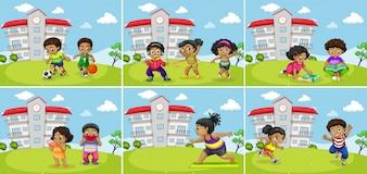 Zestaw ćwiczeń tłuszczu dzieci