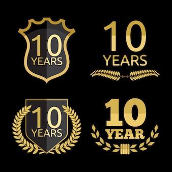 Zestaw 10 lat