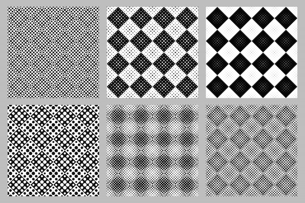 Zestaw abstrakcyjny wzór tła koło