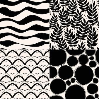 Zestaw abstrakcyjny wzór.