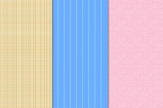 Zestaw abstrakcyjnych tekstur