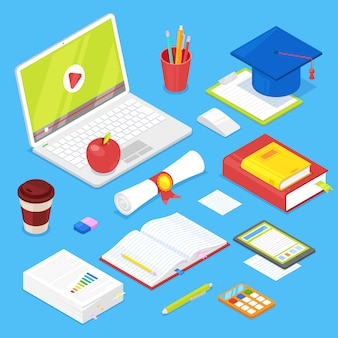 Zestaw akcesoriów dla studentów