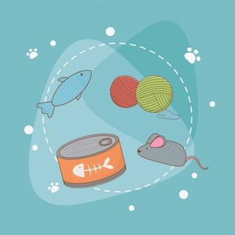 Zestaw akcesoriów do pielęgnacji zwierząt domowych